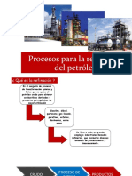 Procesos Para La Refinación Del Petróleo