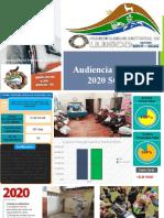 AUDENCIA PUBLICA SGDS - 2020