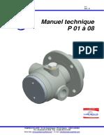 Manuel technique  P 01- 08