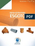 Catálogo Infra-estrutura Esgoto (TIGRE)