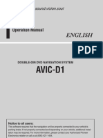 AVICD1OperationManual