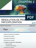 Resolution de Problemes Par Exploration
