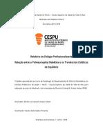 Relatório de Estágio_Podiatria Clínica_Cláudia PimentapdfA