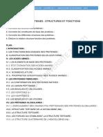 Les Proteines Structures Fonctions 2021(1)
