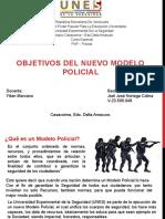 Diapositiva Nuevo modelo policial