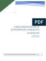 Caracterizacion de La Economia de La Bicicleta en Bogota-convertido