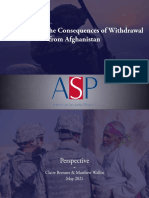 Preparing for the Consequences of Withdrawal From Afghanistan