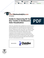 Key Trends in Dashboards and Scorecards