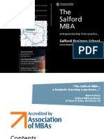 The Salford MBA