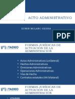 Acto Administrativo (Sesión 1)