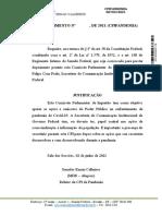 Requerimento Renan CPI