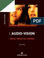 [Cinéma _ Arts Visuels] Michel Chion - L'Audio-Vision_ Son Et Image Au Cinéma (2013, Armand Colin) - Libgen.lc