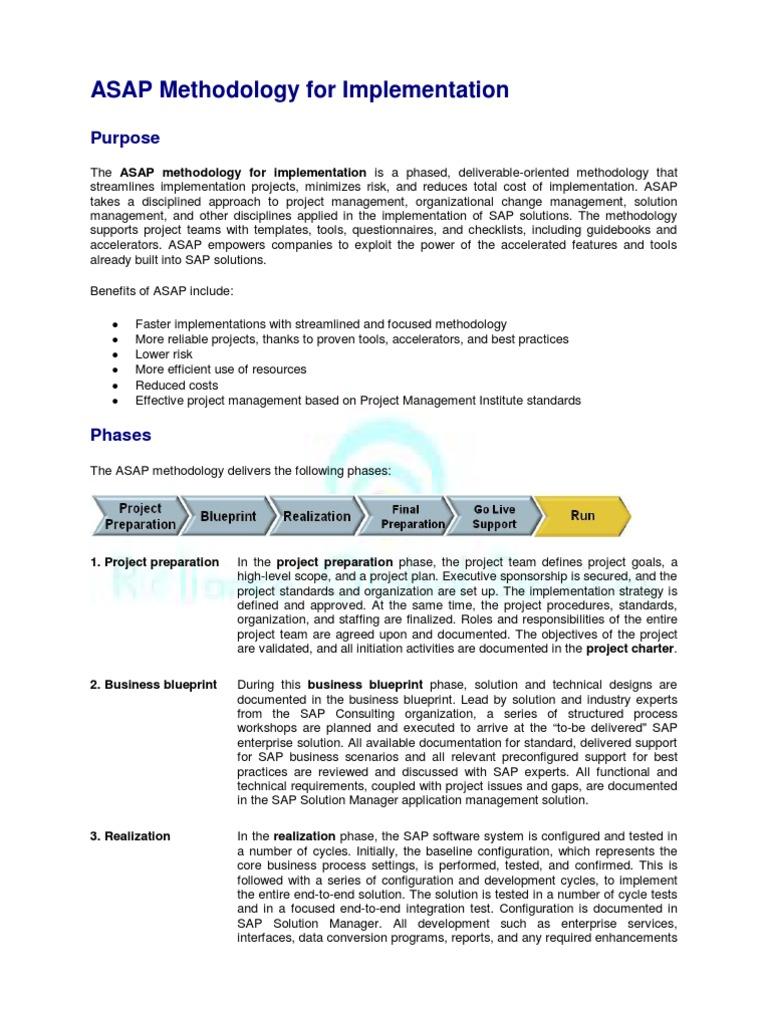 Project preparation asap project management business process malvernweather Choice Image