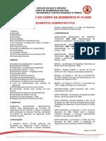 NTCB 01 2020 Procedimentos Administrativos