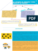 Infografía de caridad con icono azul (1)
