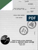 Apollo Soyuz Mission 5-Day Report