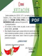 Invitación de DPCC