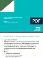 Clase 1. Introduccion_Farmacologia