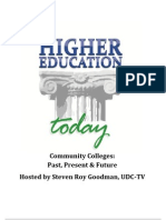 Higher Education Today - Community Colleges