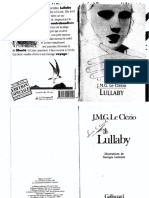 LULLABY de Jean-Marie Gustave Le Clézio