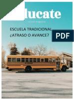 escuela tradicional revista