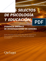 Temas selectos de psicología y educación. Evidencia empírica de investigaciones en Sonora