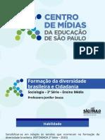 Formação da diversidade brasileira e Cidadania