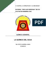 05. Monografía Química Del Agua