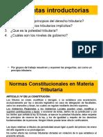Normas constitucionales en materia tributaria