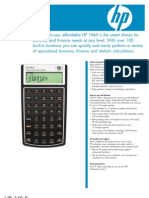 Calculadora financeira HP 10bII