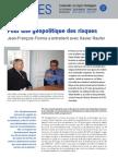 Pour une géopolitique des risques - Les entretiens du directeur Hors Série n°4
