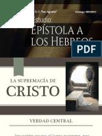 H1 La Supremacía de Cristo