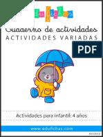 AV0013 Infantil 4 Anos Edufichas