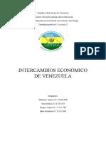 Análisis de los Intercambios Económicos De Venezuela con Cuba, Bolivia y Ecuador