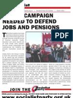 Socialist Party UCU Bulletin www.socialistparty.org.uk