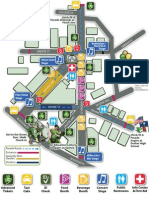 St. Pat's in Five Points Festival map