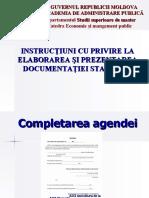 Instructiuni Completare Agenda