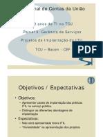modelo implentacao ITIL