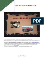 Auto Storiche Fiat Del Periodo 1930 1940