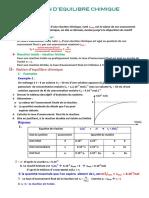 cours Notion d'équilibre chimique_bac