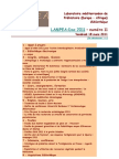 LAMPEA-Doc 2011 – numéro 11 / Vendredi 18 mars 2011