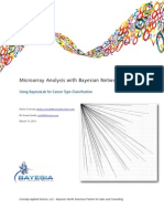 Microarray Analysis with Bayesian Networks