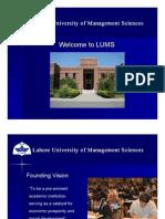 LUMS-Lahore Pakistan