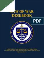 Law of War - Deskbook
