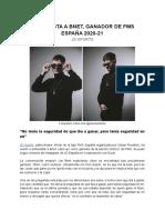 [JD Sports] Entrevista a Bnet, ganador de FMS España(1)