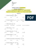 Modele Subiecte Matematica Mm Si Sof