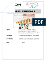 TAREA ACADEMICA N° 03 FINANZAS (LIDIA ELVIRA ESPINOZA VILLANERA)
