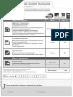 Exemple 2 Sujet Delf b2 Junior Document Candidat Comprehension Ecrite Orale Production Ecrite