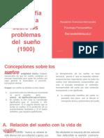 Bibliografia Cientifica sobre los problemas del sueño  Ayudantia-convertido