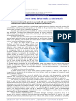 clubdelateta REF 59 DECLARACION SOBRE EL LLANTO DE LOS BEBES 2 0